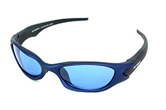 Chice blaue Sportbrille - Design nr. 644